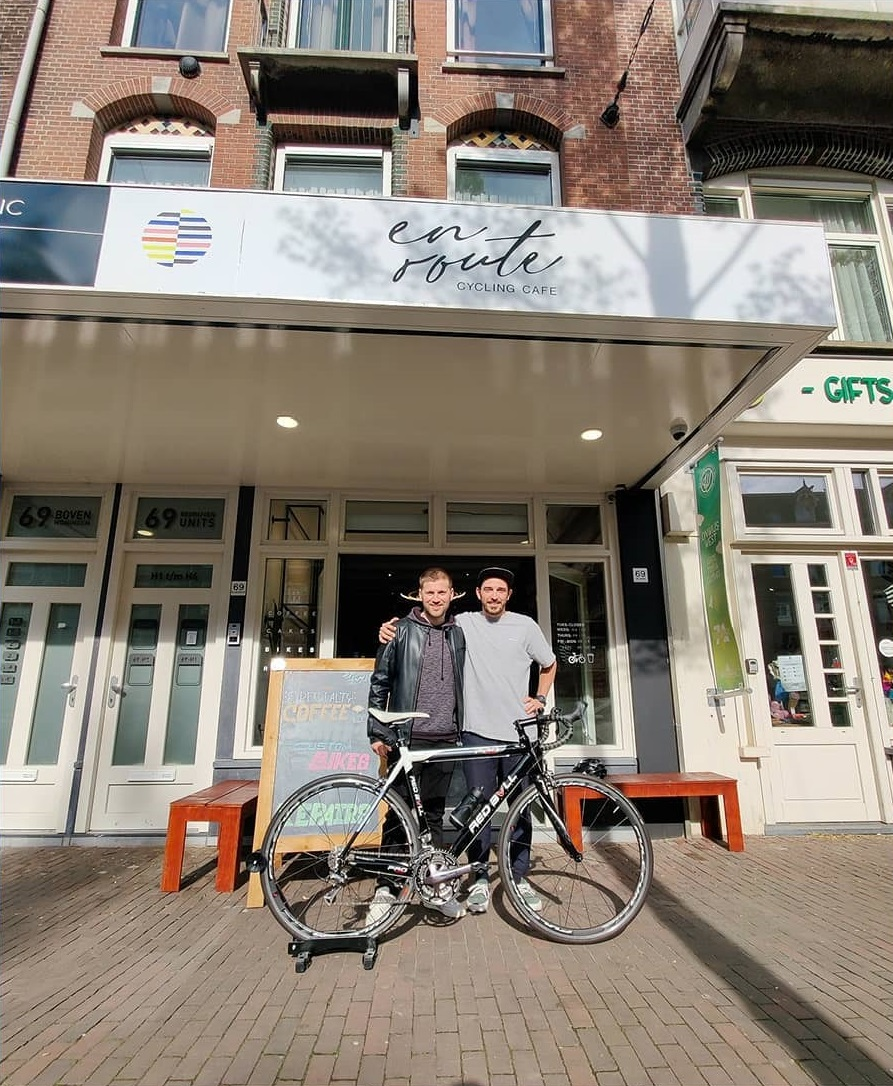 En Route Amsterdam - wielercafes.nl