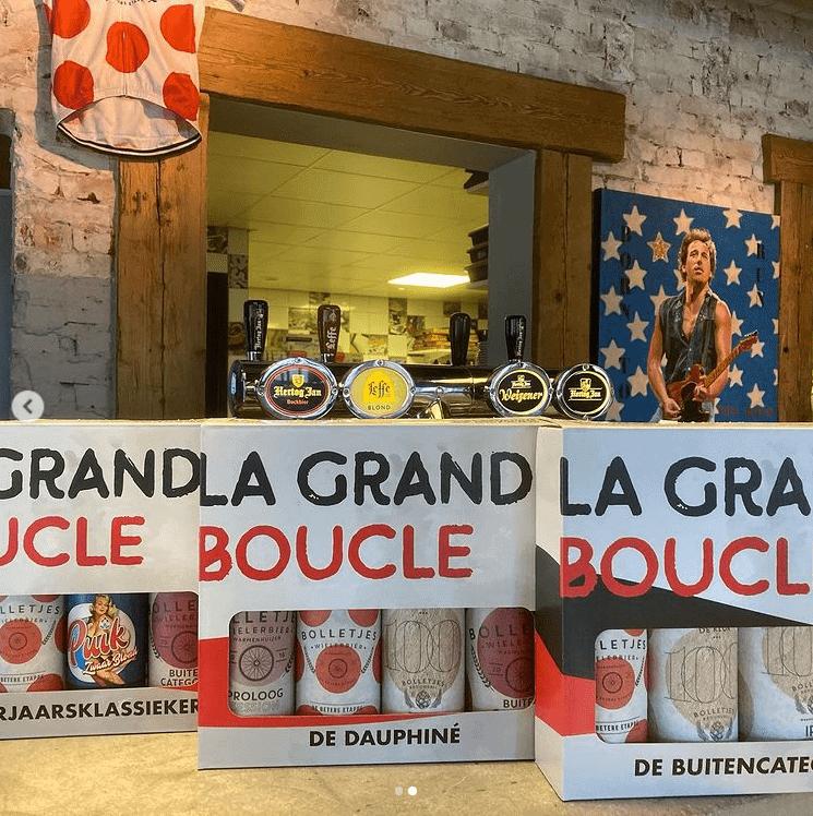 La Grande Boucle bij Bolletjescafé De Klok - wielercafes.nl