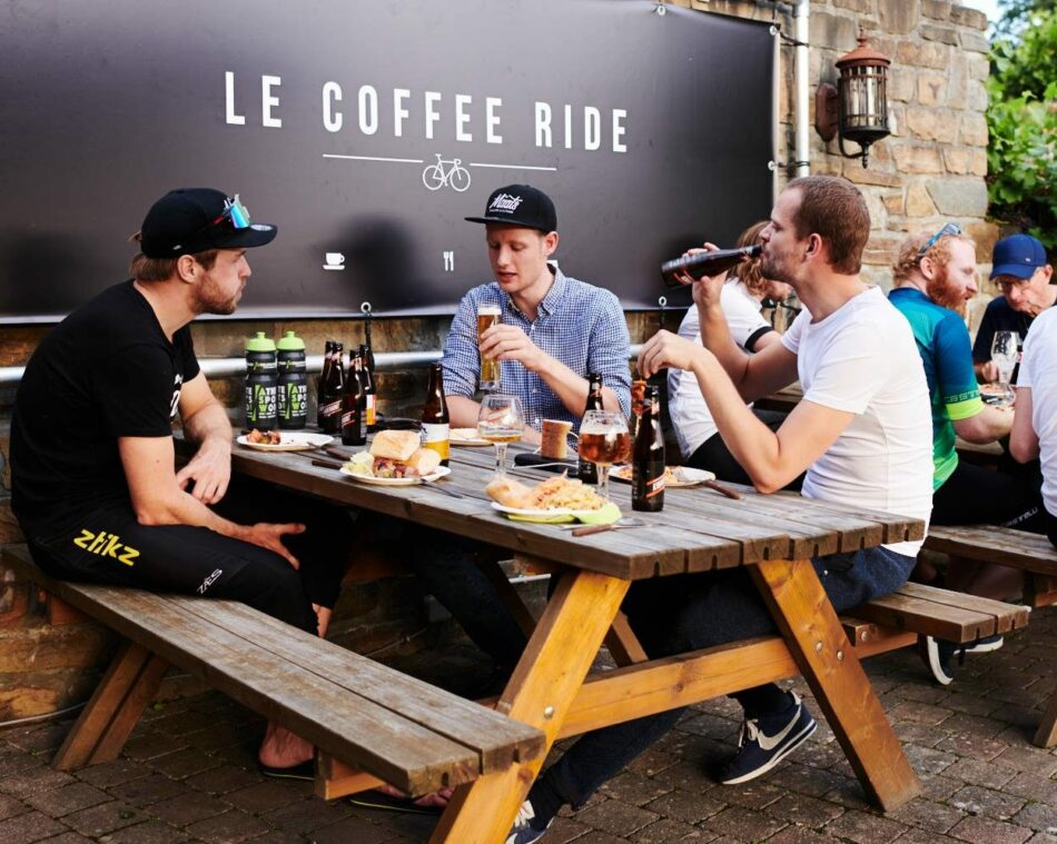 Le Coffee Ride in Coo - wielercafes.be