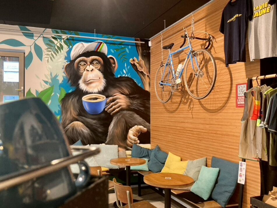 Vitesse Coffee & Cycling in Antwerpen - wielercafes.be __Vitesse