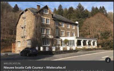 Café Coureur op Facebook - wielercafes.nl