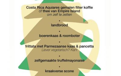 Kerstontbijtbox bij Coppi in Rotterdam - wielercafes.nl