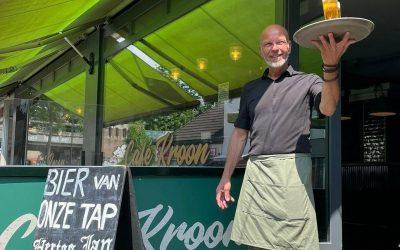 Hans Klemkerk bij Café Kroon - wielercafes.nl