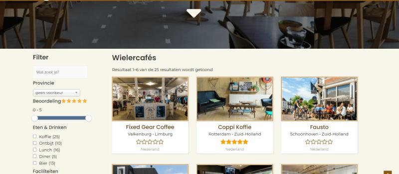 Wielercafés.nl – Bezoek, beoordeel en vergelijk alle wielercafés