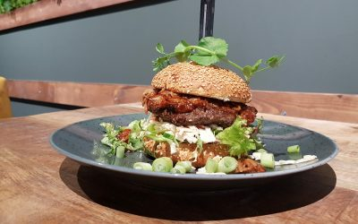 Koerscafé Gasselte - wielercafes.nl - Mont Ventoux burger