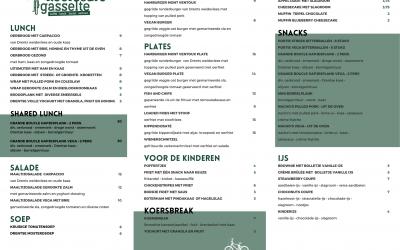 Koerscafé Gasselte - wielercafes.nl - menukaart