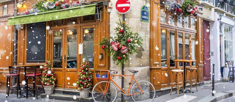 Wielercafé in sneeuw - wielercafes.nl